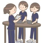 transference-nurse-female-male-three-scrub